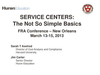 Establishing Service Centers