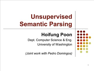 unsupervised  semantic parsing