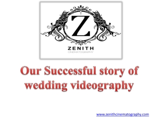 Wedding Videography |Hindu |Muslim |Sikh |Greek wedding