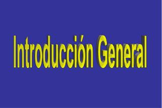 Introducción General