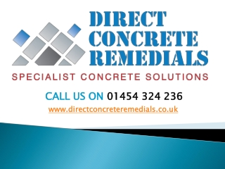 Concrete Remedial Work in UK
