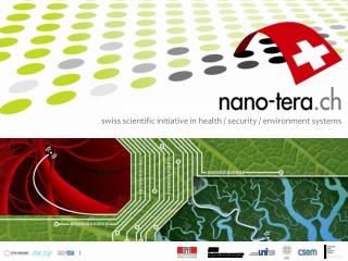 swiss scientific initiative in health / security / environment systems