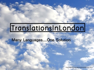 TranslationsInLondon