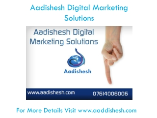 Aadishesh Digital Marketing Solutions