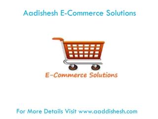 Aadishesh E-Commerce Solutions