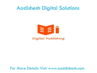 Aadishesh E-Publishing Solutions