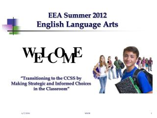EEA Summer 2012  English Language Arts