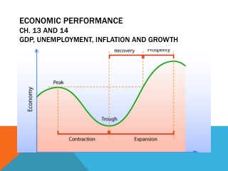 Economic Performance Ch. 13 and 14 GDP , Unemployment, Inflation and Growth