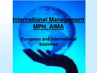 International Management MPH_AIMA