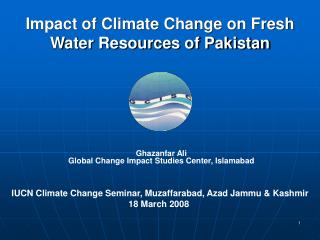 Ghazanfar Ali Global Change Impact Studies Center, Islamabad