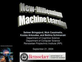 New-Millennium  Machine Learning