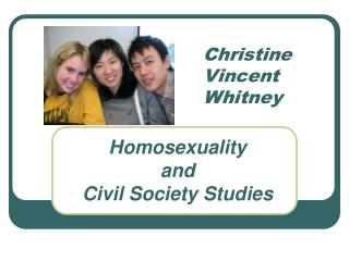 Christine  Vincent Whitney