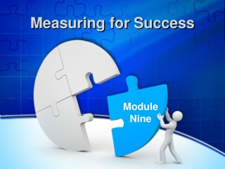 Creating Measures of Success for Your Plan