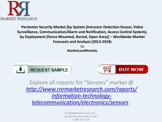 Demand For Perimeter Security Industry Solutions 2018