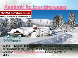 Kashmir ltc tour packages