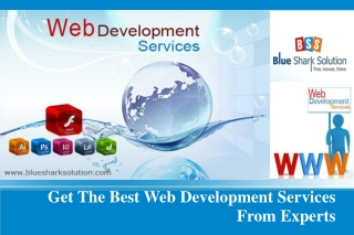 Get the best web development services from experts: