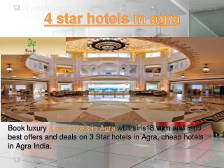 4 star hotels in agra