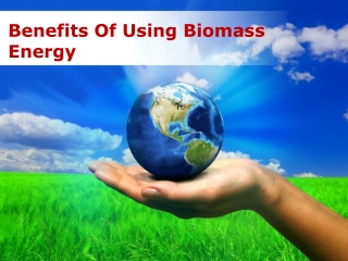 Benefits Of Using Biomass Energy
