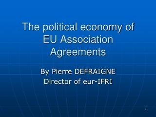 Economic Challenges in the Enlargement Region