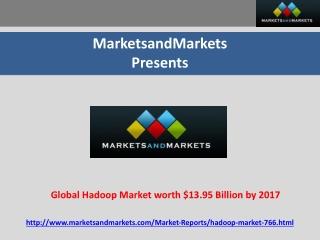 Global Hadoop Market worth $13.95 Billion by 2017