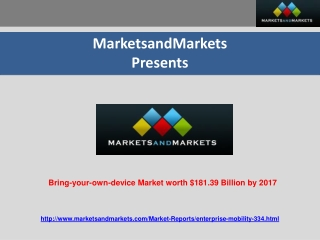 Bring-your-own-device Market Expected to Reach $181.39 Billi