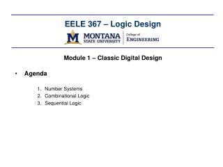 EELE 367   Logic Design