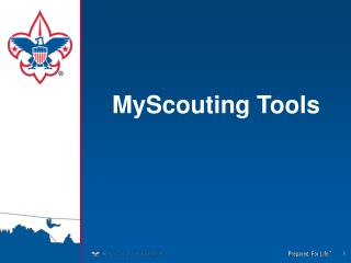 MyScouting Tools