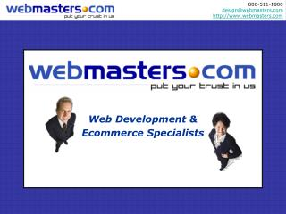 Web Development & Ecommerce Specialists