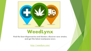Locate Medical Marijuana Dispensaries