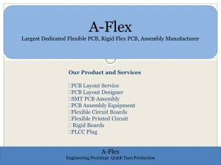 A-Flex - Dedicated Towards Designing and Developing the Best
