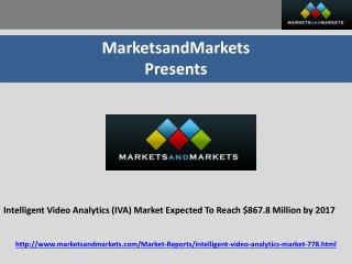 Intelligent Video Analytics (IVA) Market Expected To Reach