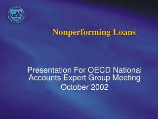 Nonperforming Loans