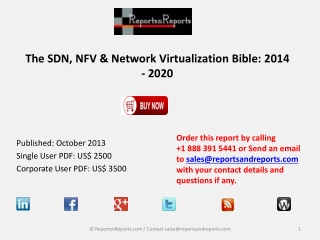 Network Virtualization Bible : SDN