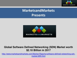 Software Defined Networking (SDN) Market (2012- 17)