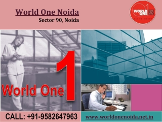 World One Noida