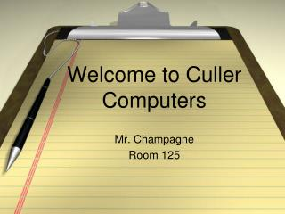 Welcome to Culler Computers