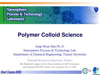 Polymer Colloid Science