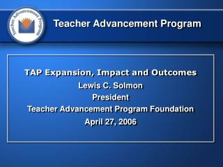 Teacher Advancement Program