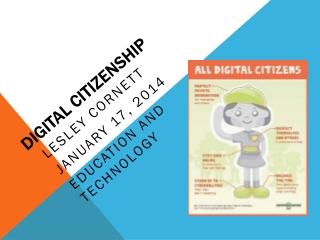 Digital Citizenship Assignment