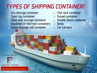 A quotographic on Shipping Container