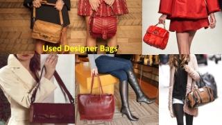 Used Designer Bags