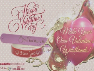 Valentine's Day Special Wristbands 2014