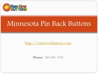 Minnesota Pin Back Buttons Templates