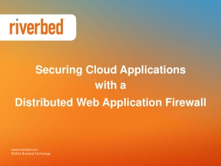 Securing Cloud Applications with Stingray Application Firewa