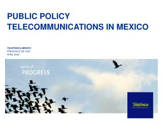 PUBLIC POLICY TELECOMMUNICATIONS IN MEXICO
