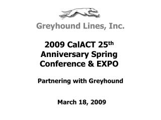 Partnering with Greyhound