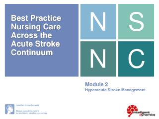 Module 2 Hyperacute Stroke Management