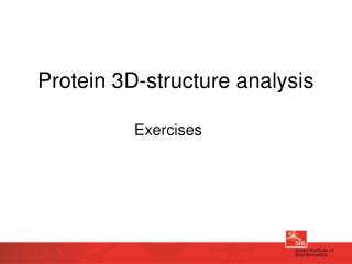 Protein 3D-structure analysis