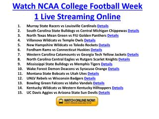 toledo rockets vs new hampshire wildcats live streaming ncaa