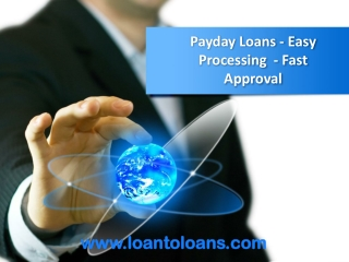 Get Payday Loans Fast